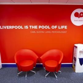 Lilá Liverpool Inglaterra